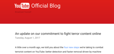 Why Youtube's New Censorship Initiative Concerns Me